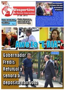 Edicion 27 di September 2013