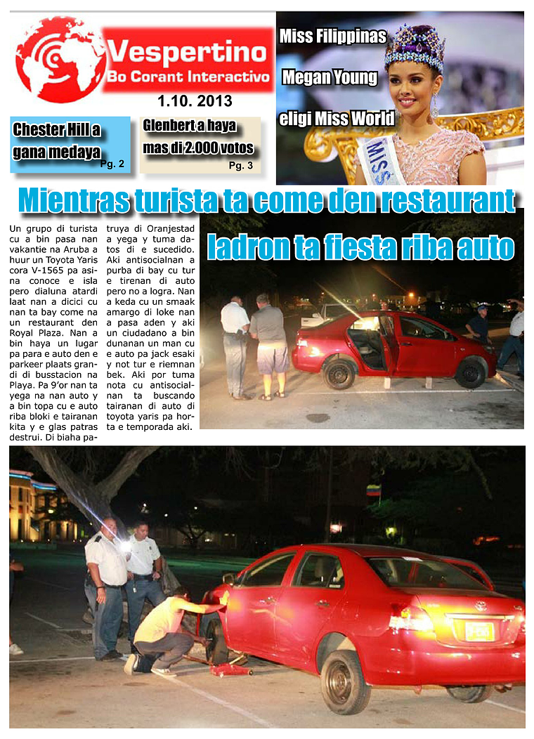 Edicion 1 di October 2013