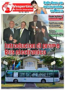 E-Vespertino Edicion 10 di October 2013
