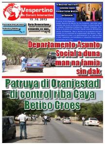 Edicion 15 di October 2013