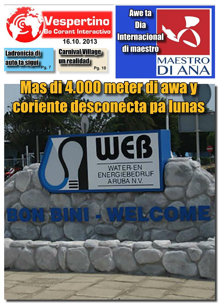 Edicion 16 di October 2013