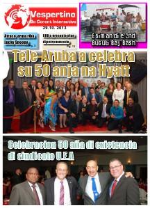 E-Vespertino Edicion 29 di October 2013