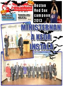 E-Vespertino Edicion 31 di October 2013