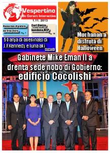 E-Vespertino Edicion 1 di November 2013