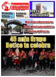 E-Vespertino Edicion 19 di December 2013