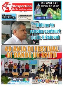 E-Vespertino Edicion 3 di Januari 2014