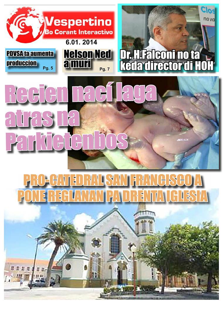 Edicion 6 di Januari 2014