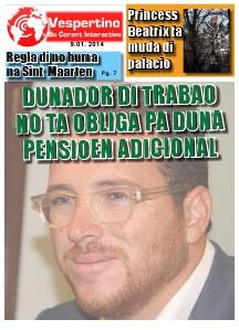 Edicion 9 di Januari 2014