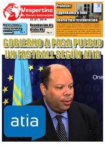 E-Vespertino Eidicion 23 di Januari 2014
