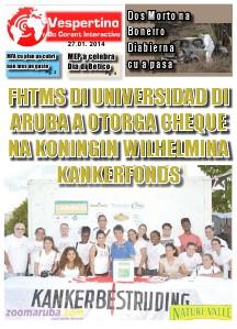 E-Vespertino Edicion 27 di Januari 2014