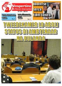 E-Vespertino Edicion 31 di Januari 2014