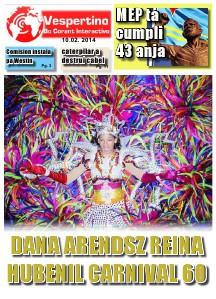 Edicion 10 di Februari 2014