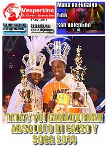 Edicion 17 di Februari 2014