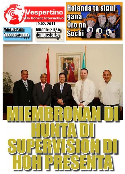 Edicion 19 di Februari 2014