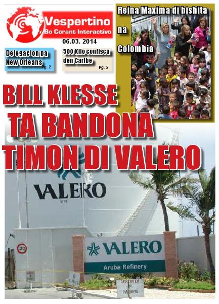 E-Vespertino Edicion 6 di Maart 2014
