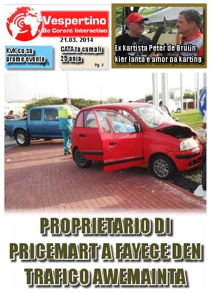 E-Vespertino Edicion 21 di Maart 2014