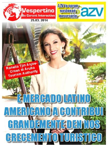 E-Vespertino Edicion 25 di Maart 2014