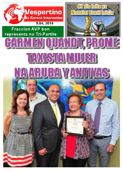 E-Vespertino Edicion 9 di April 2014