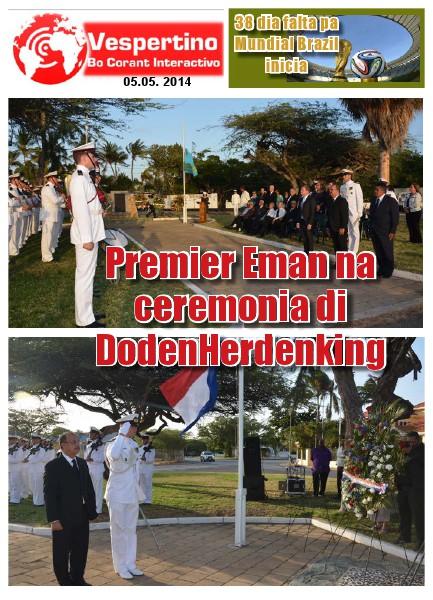 Edicion 5 di Mei 2014