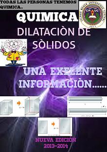 Dilatación de Sólidos.