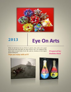 Eye on arts July. 2013