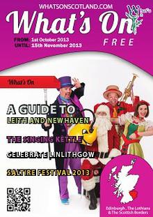 Edinburgh & Lothian's Oct - Nov 2013