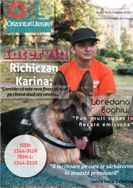 Revista Orizonturi Literare - Martie 2014
