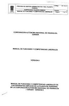 MA 16-01 Manual de funciones y competencias laborales V9