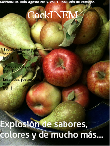 Explosión de sabores y de mucho más Ago, 2013.