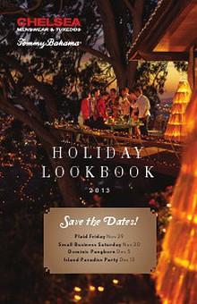 Chelsea Menswear - Holiday Lookbook 2013