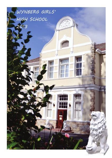 WYNBERG GIRLS' HIGH SCHOOL 2013 2013
