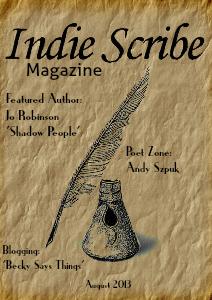Indie Scribe Magazine August 2013