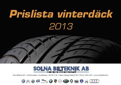 Vinterdäck 2013/2014 2013