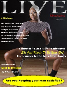 Upscale LIVE Magazine Volume 1 - August 2013