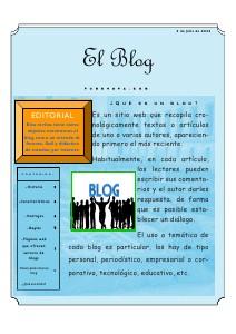 El Blog Volumen 1