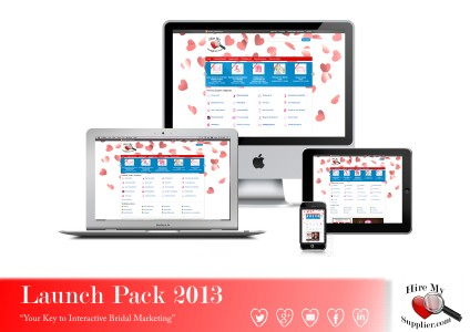 Hire My Supplier Launch Pack Weddings Suppliers & Venues
