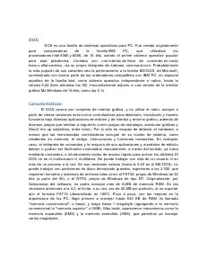 DOS-Sistema Operativo DOS
