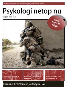 Psykologi netop nu, nr. 1, august 2013 nr. 1, aug. 2013