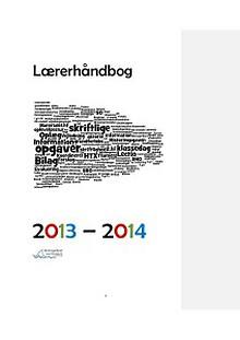 Lærerhåndbogen, 2013