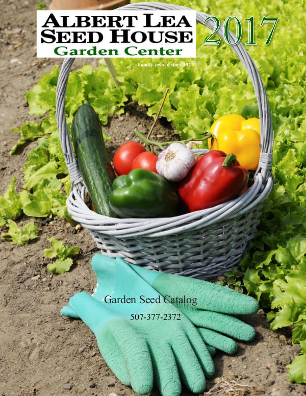 Albert Lea Seed House 2017 Garden Catalog
