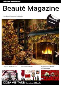 BEAUTE MAGAZINE Novembre - Dicembre 2013