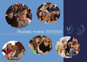 Študijski vodnik 2013-2014 (September 2013)