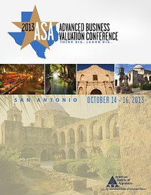 Advanced Business Valuation Conference