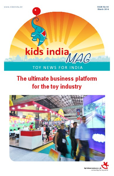 KIDS INDIA MAGAZINE ISSUE III MARCH 2014