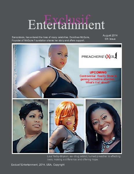 Exclusif Entertainment August 2014, Issue 5