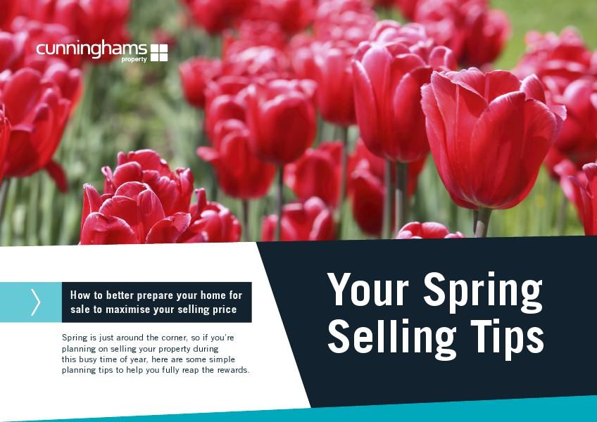 2014 Cunninghams Spring Selling Tips Spring 2014