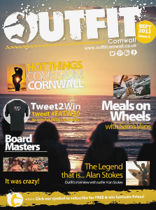 OUTFIT Cornwall The Essential Guide to Cornish Lifestyle Sep. 2013