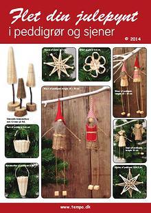 Flet dit julepynt af peddigrør(rattan)