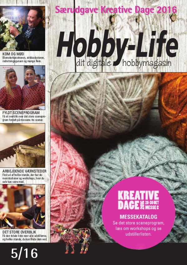Hobby-Life, Kreative Dage 2016