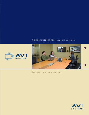 Video Conferencing ProSupport Brochure